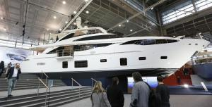 Superyacht at Boot Duesseldorf 2017